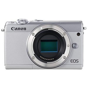 Canon ミラーレス一眼カメラ EOS M100 ボディー(ホワイト) EOSM100WH-BODY|yanagoma-store