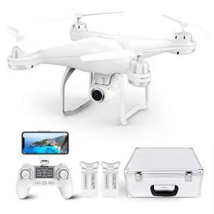 ドローン Potensic GPS搭載 2K 120°広角カメラ付き HD 200g未満 リアタイム転送 高度・座標ホバリング・フォローミーモード・オ|yanagoma-store