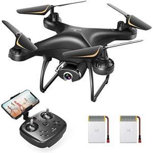 【更新版】SNAPTAIN ドローン カメラ付き 2K HD 120°広角カメラ 200g未満 最大24分飛行時間 WIFI FPVリアルタイム伝送|yanagoma-store