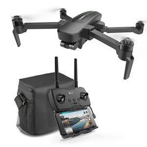 HUBSAN 三軸ジンバル搭載ドローン 超高精細4K広角カメラ付き 折り畳み式 GPS搭載 ブラシレスモーター 最大飛行時間39分 最大画像伝送距離2|yanagoma-store