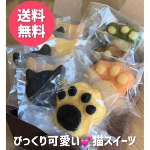 送料無料 お中元 クッキー マドレーヌ 詰め合わせ イロイロスイーツ10個セット 猫 ネコ 焼き菓子 ギフト|yanakado