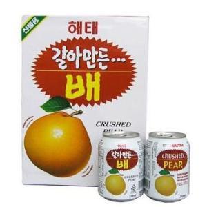 ヘテ すりおろし梨ジュース238ml缶×12本