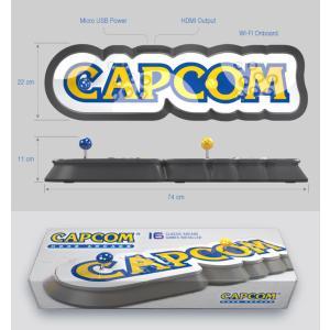 CAPCOM HOME ARCADE アーケード コントロールパネル スティック型 ゲーム機 16タイトルを収録 レトロゲーム|yancom|04