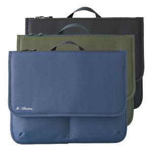 フラップポーチ スタンドバッグ ビジネスバッグ メンズ キャリングトートバッグ Lサイズ DIYグッズ ヨコ型 工具入れ 大きめ かばん A4|yandk