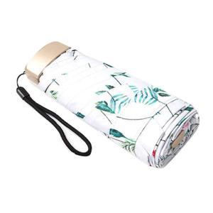 [Npoca] 軽量 折りたたみ傘 コンパクト 日傘 雨傘 UVカット 晴雨兼用 217g レディース 小さなカバンにも (ホワイト)の画像
