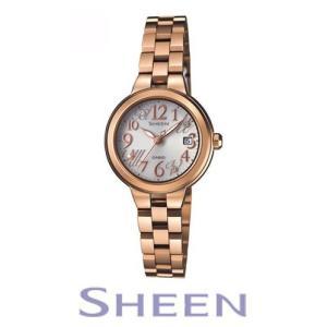 カシオ ソーラー時計 SHEEN SHE-4506SBG-9AJFレディース CASIO シーン デザイン|yano1948