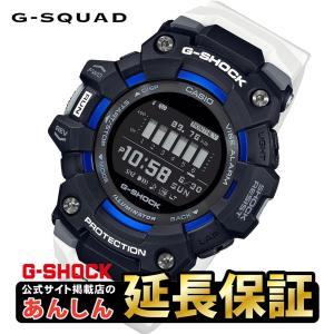 カシオ Gショック  GBD-100-1A7JF 歩数計 モバイルリンク 耐衝撃 20気圧防水 ワークアウト G-SQUAD 腕時計 メンズ  CASIO G-SHOCK|yano1948