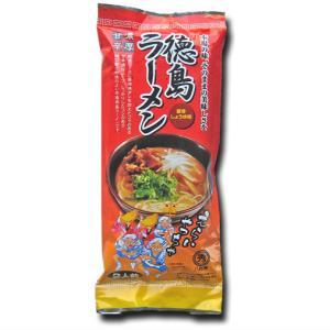 【お試しセール】八百秀徳島ラーメン【棒麺2食入】袋(ネギ入り)【ゆうメール500】の商品画像|ナビ