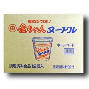 徳島製粉 金ちゃんヌードル 85g×12 箱入り