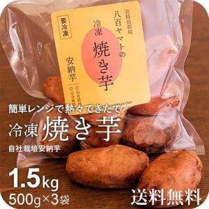 安納芋 焼き芋 1.5kg(500g×3袋)電子レンジでチン...