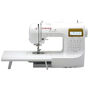シンガー(SINGER) コンピュータミシン 文字縫い機能付(ひらがな・数字・アルファベット・漢字) ハードケース・フットコントローラー・ワイドテーブ yaoyorodu-store