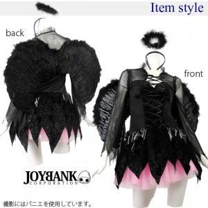 ハロウィン コスプレ 衣装/漆黒の堕天使コスチュームセットYapy01000709|yapy