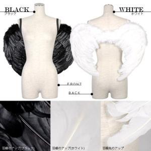 ハロウィン衣装 小さな天使の羽と悪魔の羽スモール/羽根|yapy