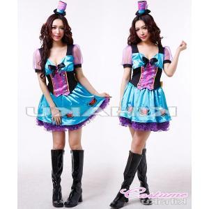 ハロウィン コスプレ 衣装/ハロウィン衣装Yapy4466/4/青|yapy