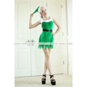 サンタクロース 衣装/緑ワンピYapy9459/サンタ衣装|yapy