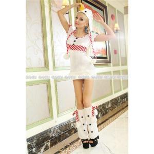 サンタクロース 衣装/雪だるまサンタ衣装Yapy9458|yapy