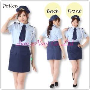 大きいサイズの婦人警官 コスプレ 衣装/レディース/婦人警官YapySUN186|yapy