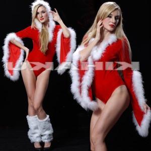 サンタ コスプレ 衣装/レディース/パンツ一体型 サンタ衣装Yapy9495|yapy