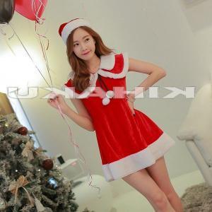 サンタ コスプレ 衣装/レディース/袖なし サンタ衣装Yapy9446|yapy