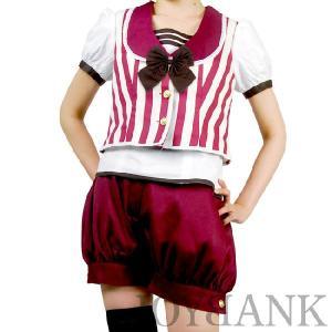 マーチング/舞台衣装/アンティークボーイ風ストライプセットアップyapy01000594|yapy