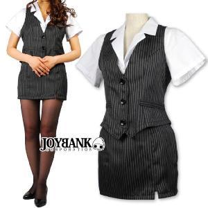 コスプレ OL服 衣装/グレーストライプのOL服コスチュームyapy01000700|yapy