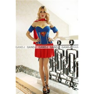 ハロウィン コスプレ 衣装/スーパーガール/スーパーマンYapy7733|yapy