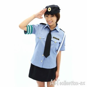 コスプレ衣装 婦人警官 衣装/瞳ポリス/ポリス コスプレ衣装 婦警|yapy