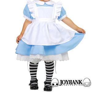 ハロウィン衣装 仮装コスプレ 不思議の国のアリス子供用エプロン付きワンピース|yapy