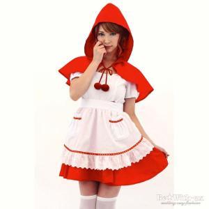 ハロウィン衣装 仮装コスプレ チェリーな赤ずきんちゃん|yapy