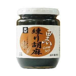 ムソー 練り胡麻・黒 240g|yasaimura