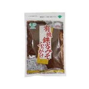 無双本舗 有機鉄火みそふりかけ・袋 75g|yasaimura