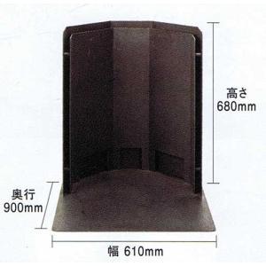 ペレット・薪兼用ストーブ クラフトマン用 二重防熱版付き炉台 PB-2