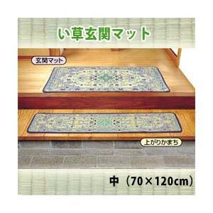 【送料無料】い草玄関マット/中(70×120cm)|yasashisa