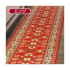 ループタイプ ワイド幅廊下敷きカーペット / メインロード 80×440cm|yasashisa