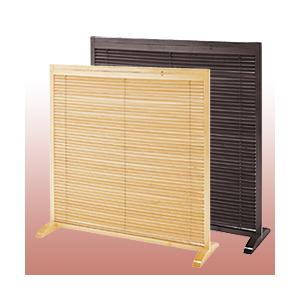 木製ブラインドパーテーション  衝立(一連)|yasashisa