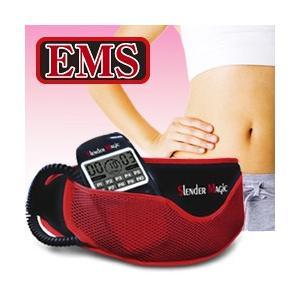 スレンダーマジック IW-0022 (EMS 腹筋 ベルト 腹筋ベルト ブルブル 腹筋マシン トレーニング)|yasashisa