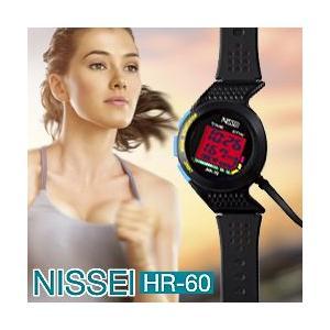 脈拍計 PulNeo パルネオ HR-60 (日本製 光電式脈拍計モニター 腕時計型 心拍計 脈拍計 NISSEI ニッセイ 日本精密測器 即日発送 )|yasashisa