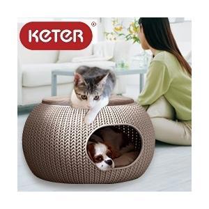 KETER コージー ペット ホーム (ペット ハウス クッション ベッド 犬 猫 犬小屋 ドッグハウス キャットハウス ) |yasashisa