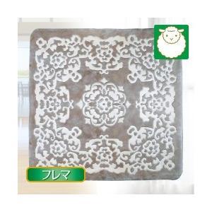 ムートン ベビーラムカーペット・フレマ(200×200)|yasashisa