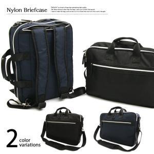 ビジネスバッグ 3way  ( ブリーフケース pc ナイロン PCバッグ メンズ 出張 黒 リュック 通勤 出張 オフィスカジュアル 鞄 カバン バッグ 526 )|yasashisa