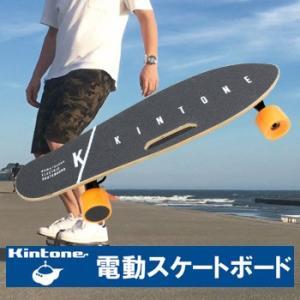 【公道での走行禁止】 Kintone EZ skateboardは公道で乗ることができません。私有地...