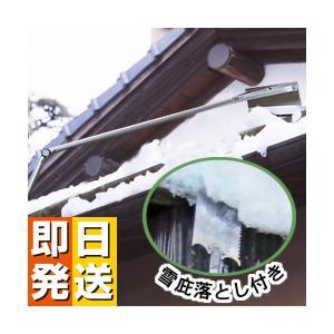 アルミ雪落とし・雪下ろし (雪庇せっぴ)落とし付き 4.5m 雪降ろし yasashisa