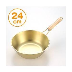 チタンゴールドパン(24cm)|yasashisa