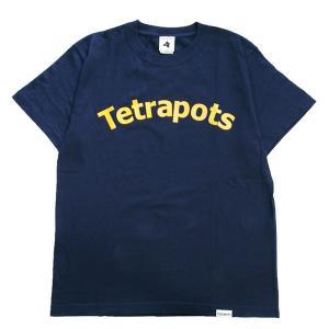 テトラポッツ Tetrapots ユニセックス  Tシャツ LOGO TEE