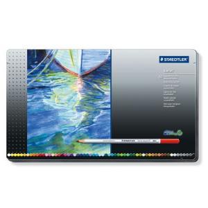 ステッドラー カラト アクェレル 水彩色鉛筆 60色セット 125M60|yasudaclub
