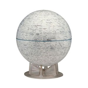 リプルーグル NASA 月球儀 英語版 38245|yasudaclub