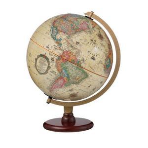 リプルーグル 地球儀(カーライル型 アンティーク地図) 83573|yasudaclub