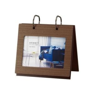 LADONNA ラドンナ アルバムフォトフレーム ダークブラウン AL16-P-DBR|yasudaclub