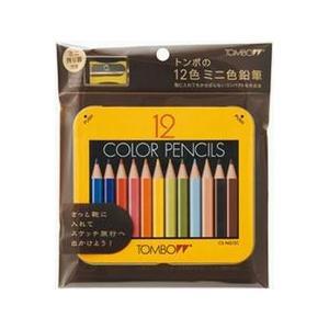 トンボ鉛筆  ミニ色鉛筆12色 BCA−151|yasudaclub
