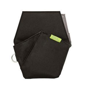クツワ 文具エプロンバック ポケット ブラック BE008BK|yasudaclub